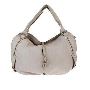 ⭐️HP!⭐ CELINE Beige Leather Hand/Shoulder Bag EUC